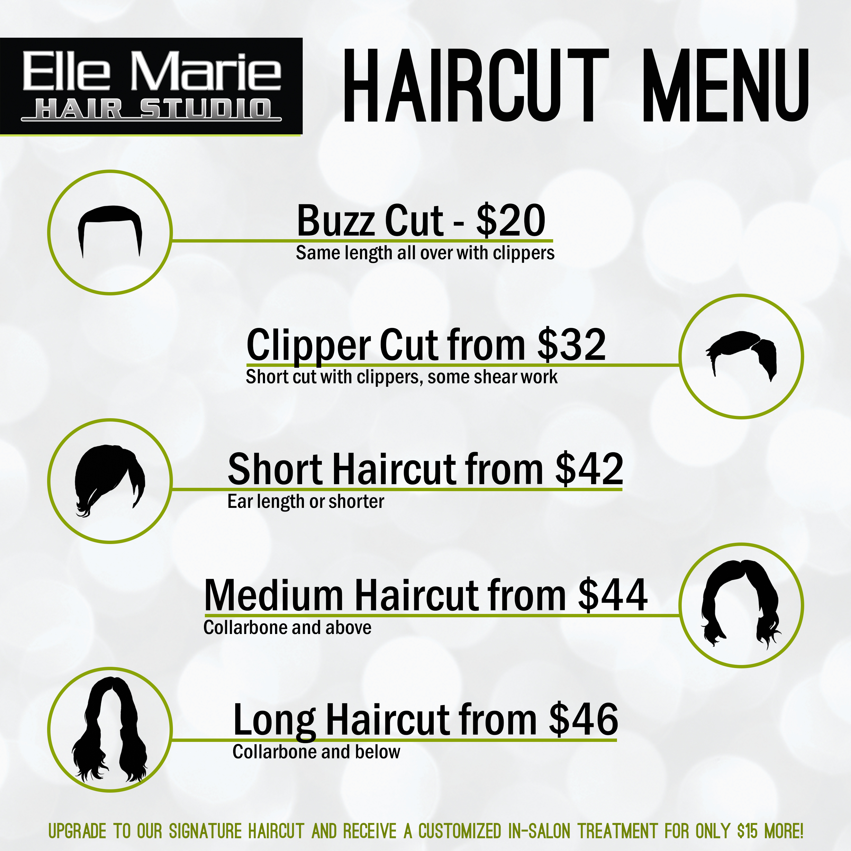 Haircut Length Guide