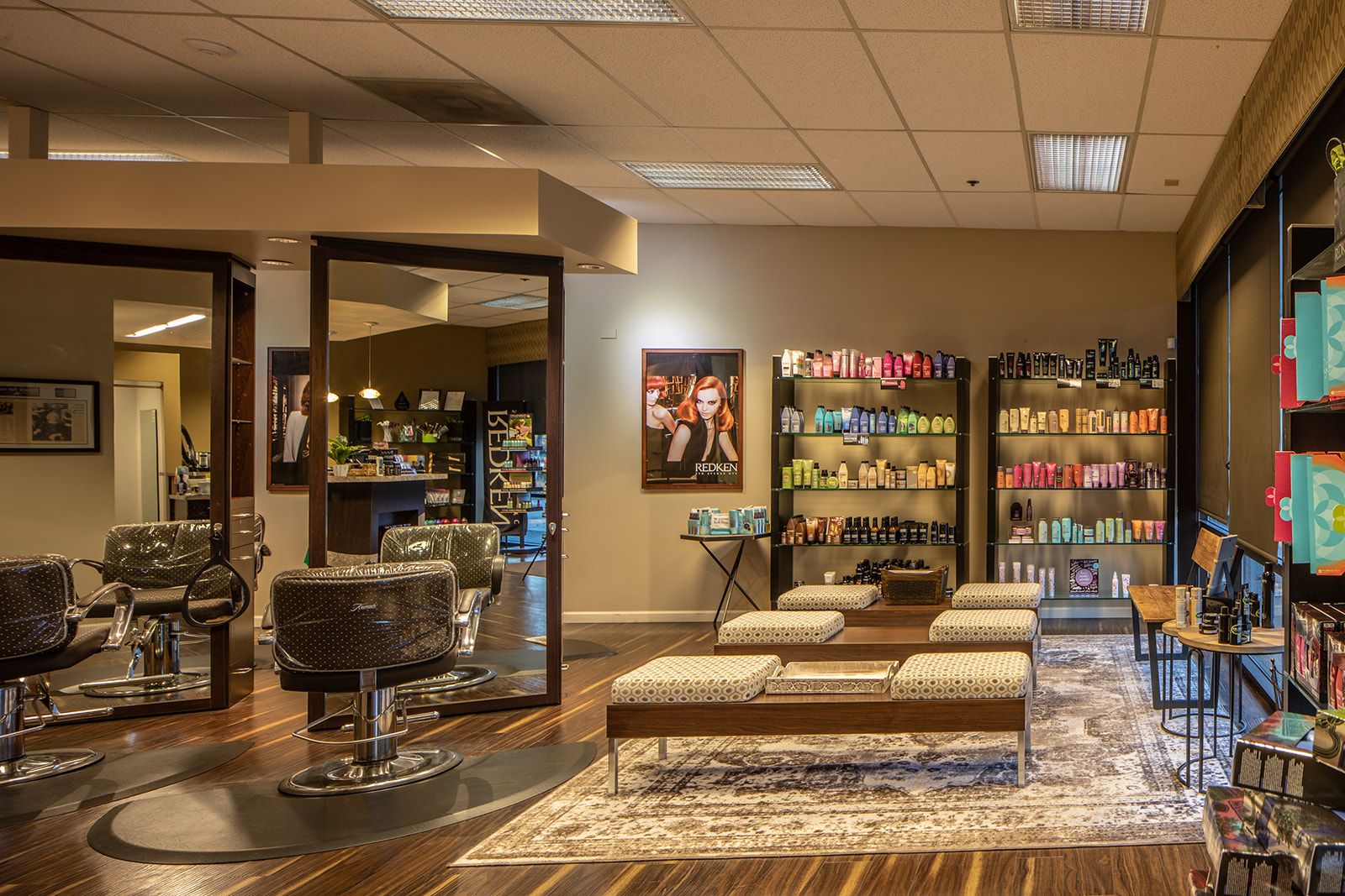 Elle Marie Hair Studio Alderwood Interior