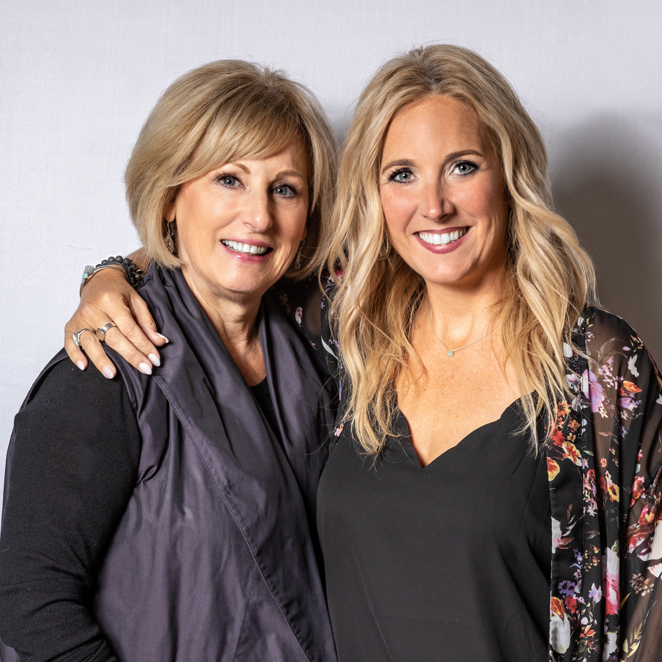 Colleen Buck and daughter Lorry Green, owners of Elle Marie Hair Studio