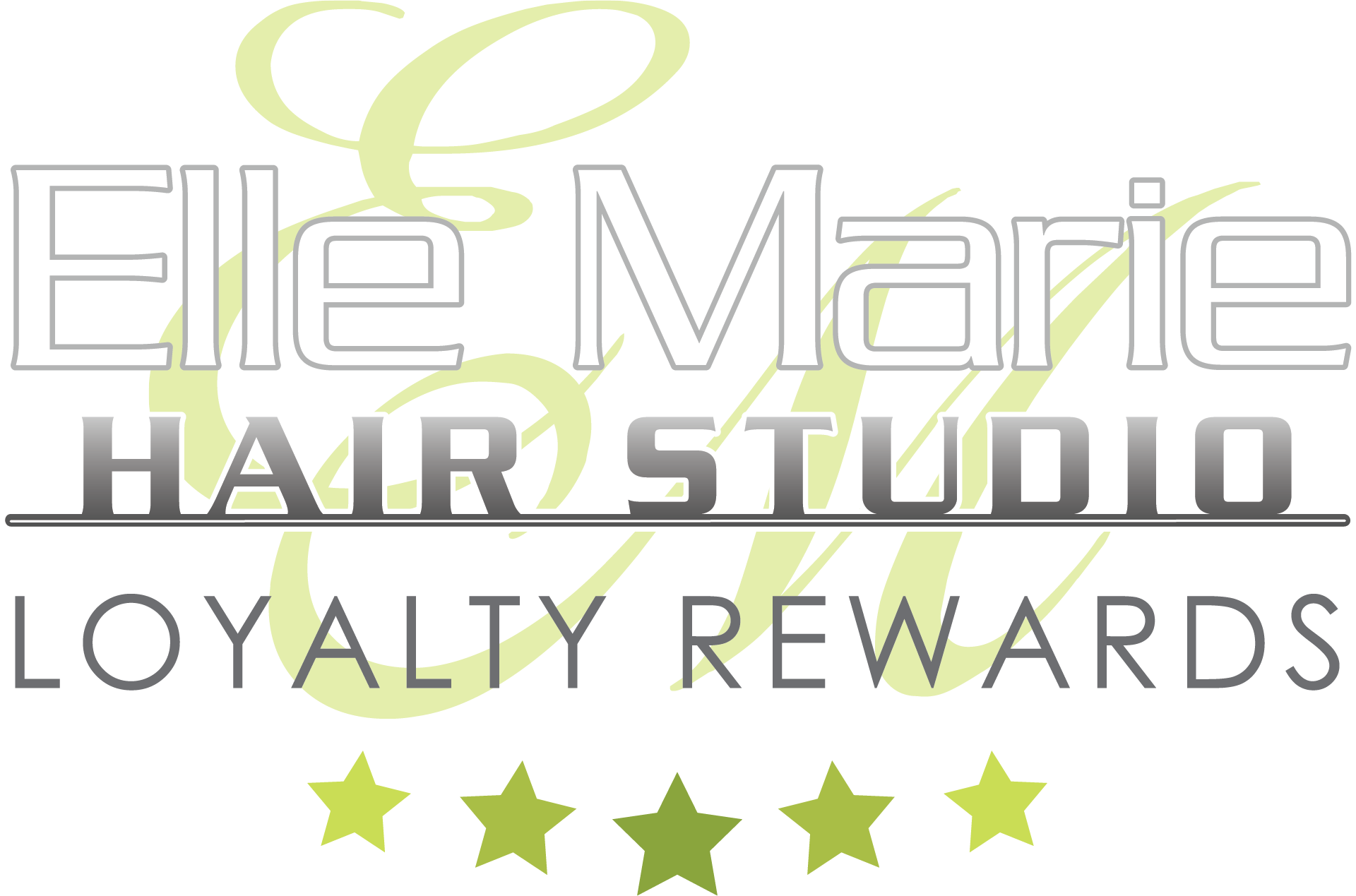 Elle Marie Hair Studio Loyalty Rewards