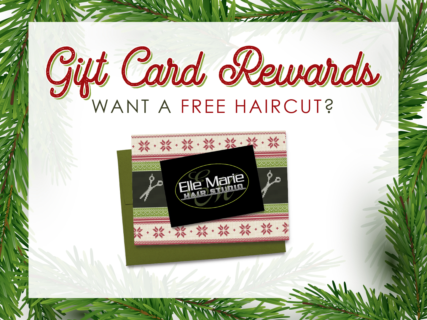 Elle Marie Hair Studio Gift Card Rewards